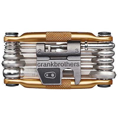 Crank Brothers M17 Bicycle Multi-Tool - Gold