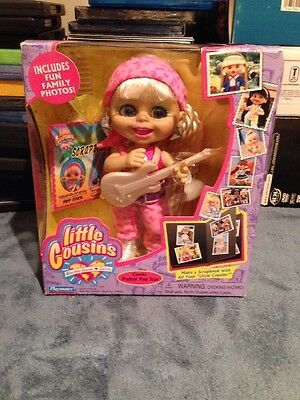 Little Cousins Doll Cousin Parker Pop Star Playmates In Box