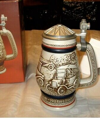 New Original Box Avon Collectibles 1979 Car Classics Beer Stein Ford Model T