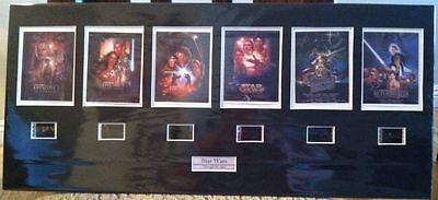Star Wars Film Cell Display Sets - 1-6 Through the Ages