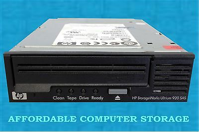 HP LTO-3 Tape drive INTERNAL SAS EH847A Ultrium 920 HH EH847-69201 Half Height