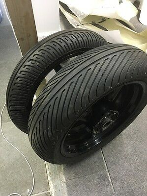 Honda Cbr 600 F Wheels and Wet Tyres, Wets On Wheels