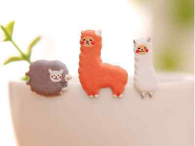 Cute Sweet Alpaca Sticker DIY Kid Diary Fun Gift Novelty Kids Party Sheep