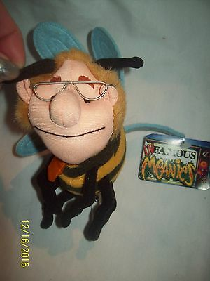 1998 Infamous MEANIES Jerry Stinger Springer Beanie Bee-NWT