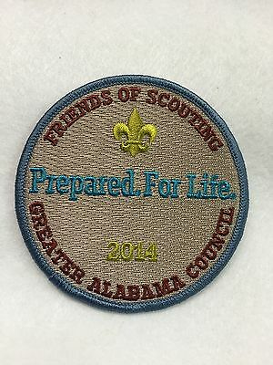 Boy Scouts-   2014 Greater Alabama Council - Friends of Scouting patch