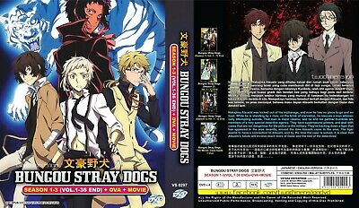 ANIME DVD~Bungou Stray Dogs Season 1+2(1-12End)Eng sub FREE SHIPPING+FREE GIFT