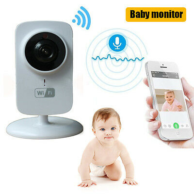 720P Wireless Network Wifi Security IR IP Camera Baby Monitor Video Night Vision
