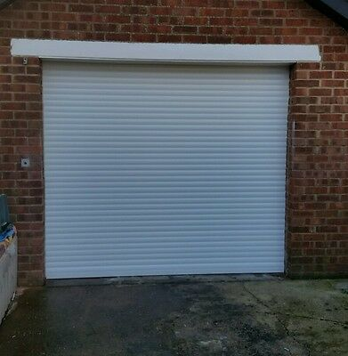 Insulated electric  roller garage doors. From  £395 in white