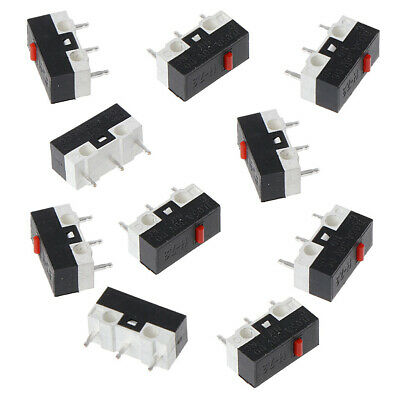 10 Pcs Button Switch 3Pin Mouse Switch Microswitch For RAZER Logitech G700 Mouse
