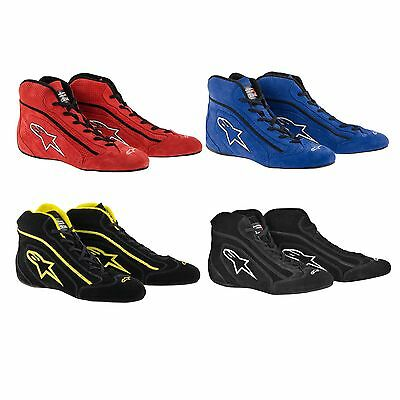 Alpinestars SP Suede Racing/Rally/Race/Driving Boots - FIA Approved