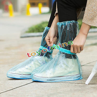 New Reusable Rain Shoe Covers Waterproof shoes Overshoes Boot Gear