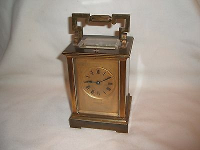 Antique Repeating 8 Days Striking Carriage Clock