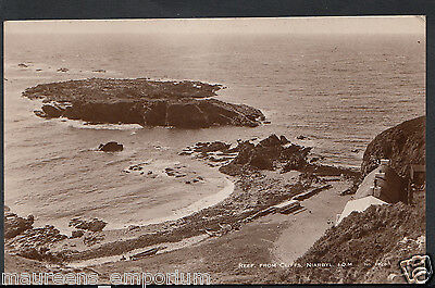 Isle of Man Postcard - Reef From Cliffs, Niarbyl   RT1996
