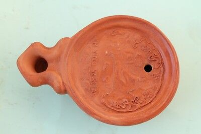 Reproduction of Ancient Roman Ceramic Oil Lamp