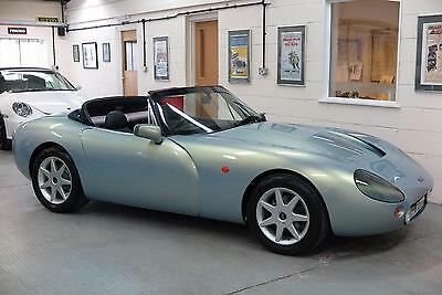 1999 T TVR Griffith 500 Sports Convertible - Azzuro Nuvola Pearl - 41k Miles