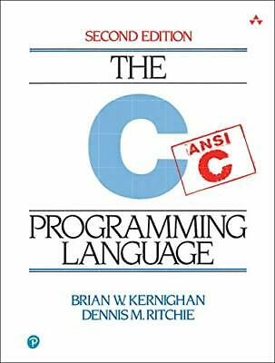 The  C Programming Language (2nd Edition) by Ritchie, Dennis Paperback Book The