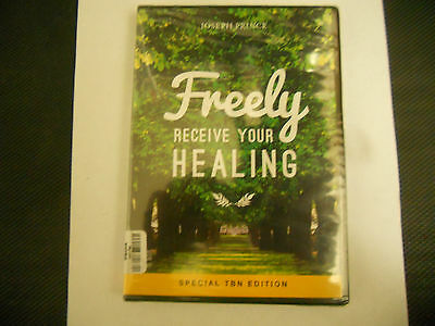 Freely Receive Your Healing - Joseph Prince Cds New