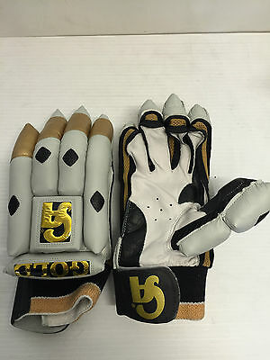 CA Sports Gold Cricket Right Hand Batting Gloves
