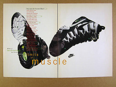 1994 Nike Air Trainer Max2 cross-training shoes photo vintage print Ad