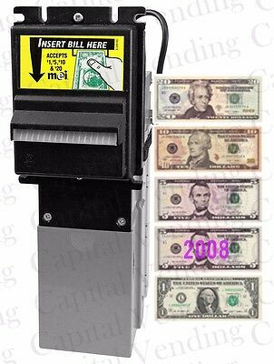 Mars MEI AE 2631 AE2631 Dollar Bill Acceptor Validator Downstacker $1-$20 120vac