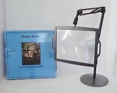 3X Full-Page Desk Stand Flexible Adjustable Neck Multipurpose Magnifier