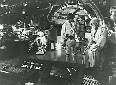 Mark Hamill Alec Guinness George Lucas Star Wars 1977 Vintage Photo Original #20