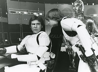 Mark Hamill Harrison Ford George Lucas Star Wars 1977 Vintage Photo Original #6