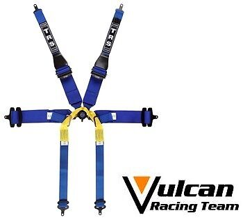 TRS 2016 Harness New Pro Superlight 6 Point Single Seater FIA Approved Blue