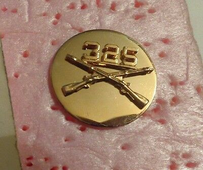 Us Army, 325Th Airborne Infantry Regiment, Enlisted Collar Devise, B.o.s,
