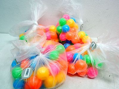 Natorytian Approximately 200pc  Soft Plastic Ball Pit Balls (INDENTIONS IN SOME)