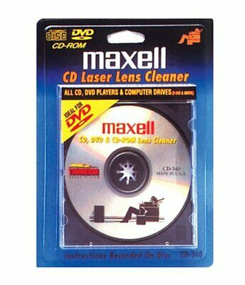 Maxell CD-340 Laser Lens Cleaner - Accessories
