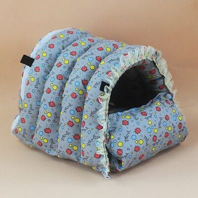 Hamster House Winter Warm Guinea Pig Hammock Pets Rabbit Squirrel Bed Lace Decor