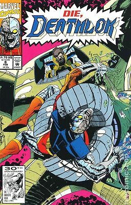 Deathlok #8 (Feb 1992, Marvel)
