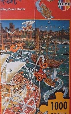 new sealed box HEYE puzzle SAILING DOWN UNDER by RYBA 1000 pieces jigasw PUZLE
