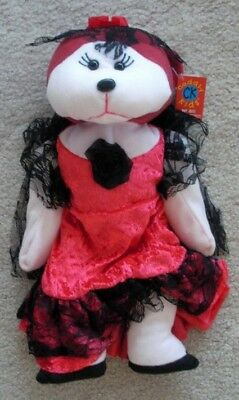 Skansen Cuddly Kid Maria The Flamenco Dancer Bear Mint With Mint Tag