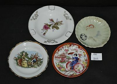 ThriftCHI ~ 4 Assorted Butter Pats & Ash Tray Japan