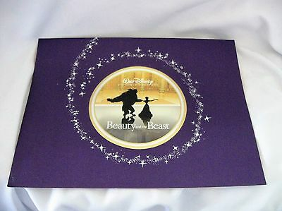 """Disney Lithographs (Set of 4) from BEAUTY & THE BEAST 11"""" X 14"""" - Portfolio"""