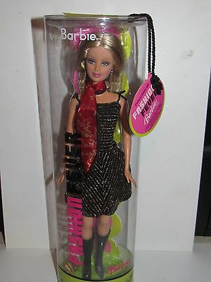 Fashion Fever Barbie Doll - Free Us Shipping!