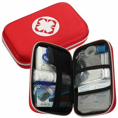 18Psc Outdoor First Aid Survival Medical Bag Treatment Emergency Rescue Kit