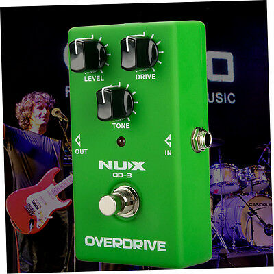 NUX Overdrive Booster Guitar High Power Simulation Chorus Effect Machine OD-3 F2