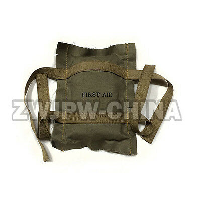 Ww2 Us Trooper Soldier First Aid Kit Bandage Collection Medical Bag Gear