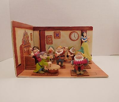 Snow White and the Seven Drawfs, 65th anniversary Disney Collection, Diorama