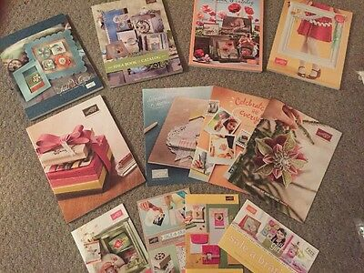 Stampin' Up Idea Book And Catalogs Bundle