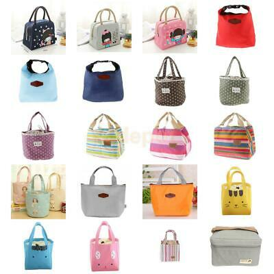Portable Insulated Thermal Cooler Lunch Box Carry Tote Storage Bag Case- 56 Type