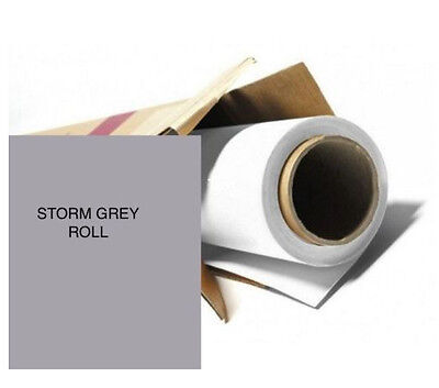 Colorama STORM GREY Photography Background Paper Roll Off Cut 0.9m Wide x 11m