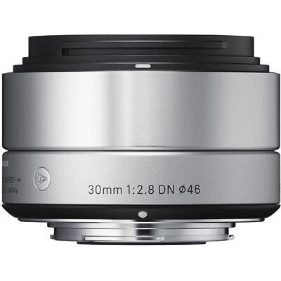 Sigma 30mm F2.8 DN 'A' Lens - Micro FourThirds Fit in Silver