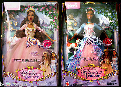 Anneliese Erika Barbie Doll African American Princess and the Pauper SW AA Lot 2