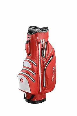 Big Max Cartbag - Aqua Sport - wasserdicht - red-white,  Neuheit!