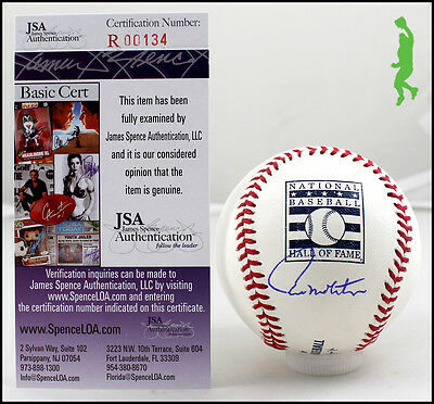 Paul Molitor Autographed Signed Hall Of Fame Hof Baseball Ball Twins Coa Jsa