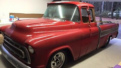 Chevrolet: Other Pickups Cameo 1957 Chevrolet Other Pickups 57 Cameo Pro-Street